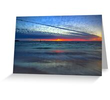 Painted Sky Greeting Card