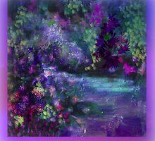The Little stream flowing  that God madeby Sherri Nicholas by Sherri     Nicholas