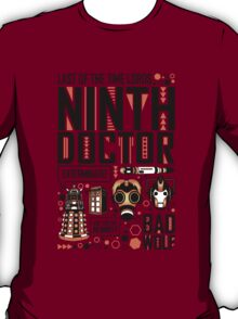 The Ninth Doctor T-Shirt