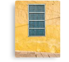 Yellow Wall Canvas Print