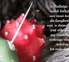 'n Balletjie rooi... by Rina Greeff
