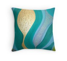 Coming Into Being. Stage 3: Birth-Tross! Throw Pillow