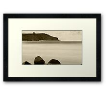 Don Heads-Retro Style Framed Print