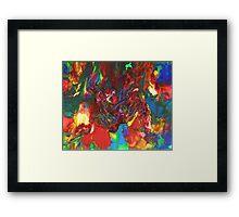 Lava Flow Framed Print