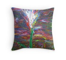 Twilight Tulip Throw Pillow