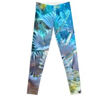 Social Feather Duster Anemone on Coral Reef Leggings
