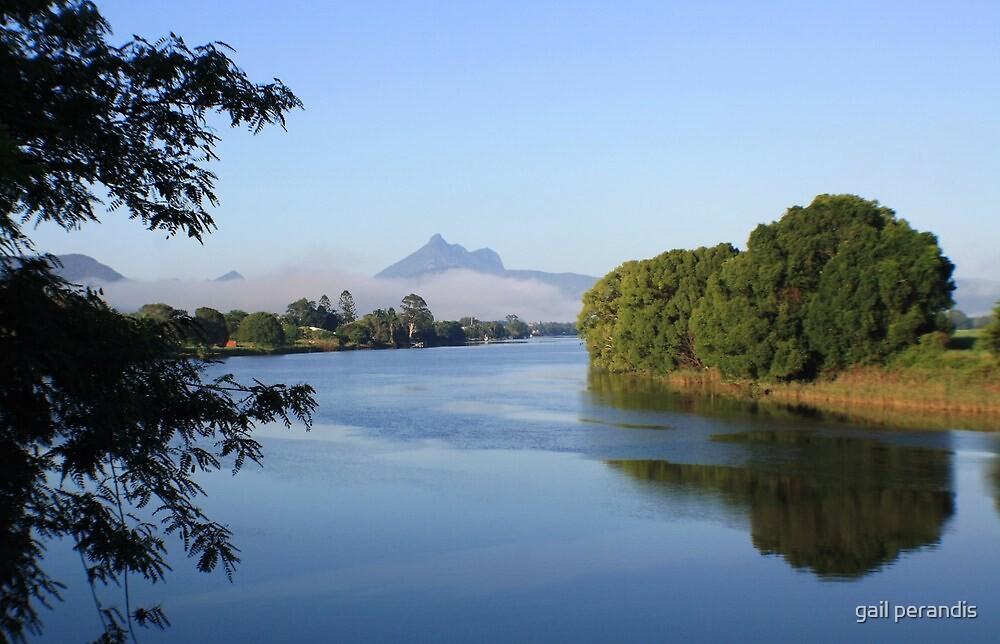 tweed river morning ... by gail woodbury