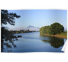 tweed river morning ... Poster