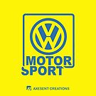 VW Motor Sport Yellow by axesent