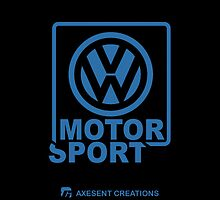 VW Motorsport Black-blue by axesent