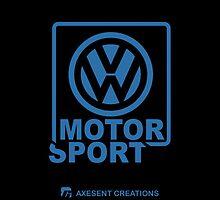 VW Motorsport Black-blue by axesent