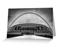 Wembley Stadium Greeting Card