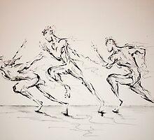 Three Blind Mice by Marc Allante