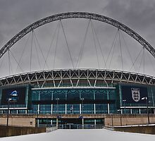 Wembley Stadium by Asif Patel