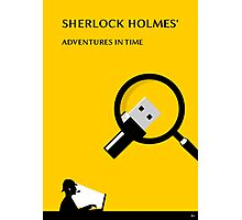 Sherlock Holmes' Adventures in Time Photographic Print