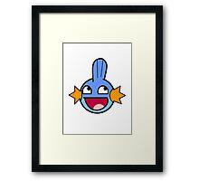 Mudkipz Framed Print
