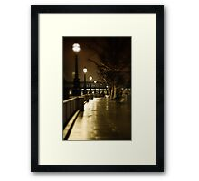Night Passage Framed Print