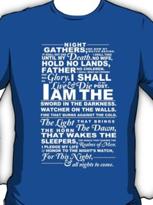 The Night's Watch Shirt T-Shirt
