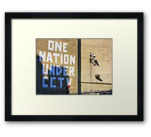 The State of the Nation Framed Print