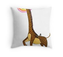Tickle, tickle Throw Pillow