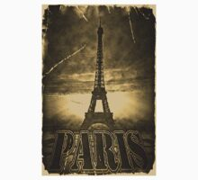 Vintage Eiffel Tower Paris #2 T-shirt Kids Tee