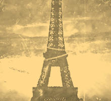 Vintage Eiffel Tower Paris #3 T-shirt Sticker