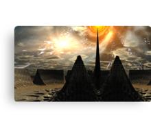 Star Temple Pyramid - Convergence Canvas Print