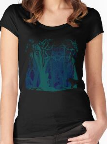 Don't go into the Woods Women's Fitted Scoop T-Shirt