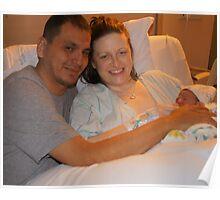 Twana Grace and Parents Poster