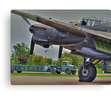 Bomber Command 1944 - HDR Canvas Print