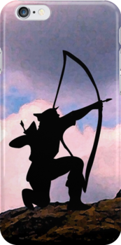 Archery iPhone case 4 U by patjila