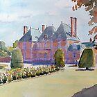 Chateau de Mesnil Geoffrey by HurstPainters