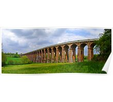 Balcombe Viaduct Panorama - HDR Poster