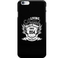 Living Legend Since 1954 iPhone Case/Skin