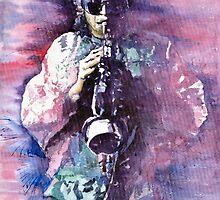 Miles Davis Meditation 2 by Yuriy Shevchuk