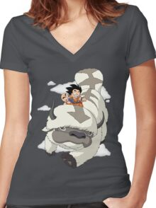 Yip Yip Women's Fitted V-Neck T-Shirt