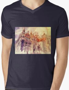 Venezia Mens V-Neck T-Shirt