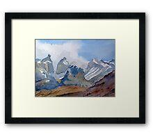 Torres del Paine - Chile Framed Print