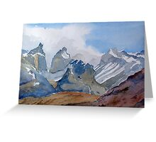 Torres del Paine - Chile Greeting Card