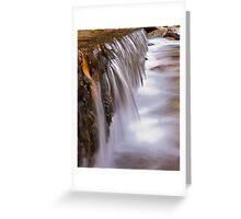 Flow IV Greeting Card