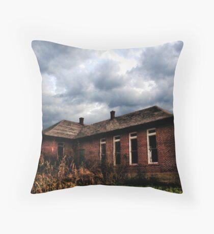 School House #2 Throw Pillow