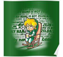 My name is not Zelda Poster