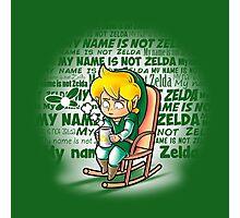 My name is not Zelda Photographic Print
