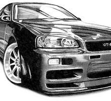 GT-R Nissan Skyline by Jimmy Rivera