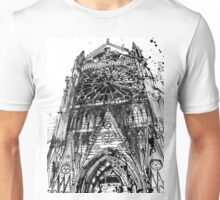 Notre Dame in Paris Unisex T-Shirt