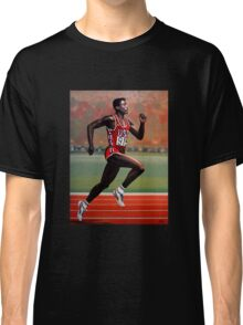 Carl Lewis painting Classic T-Shirt