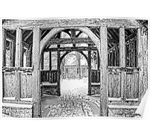 St Nicholas, Pluckley - Through The Lychgate Poster