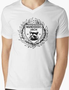 Wanderers Union Mens V-Neck T-Shirt