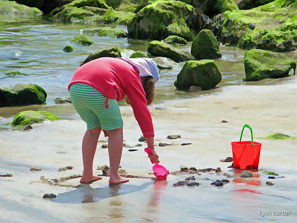 Fun On The Beach by lynn carter