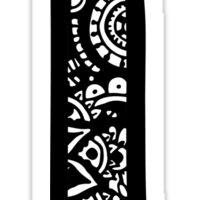 L Doodle Letter Sticker